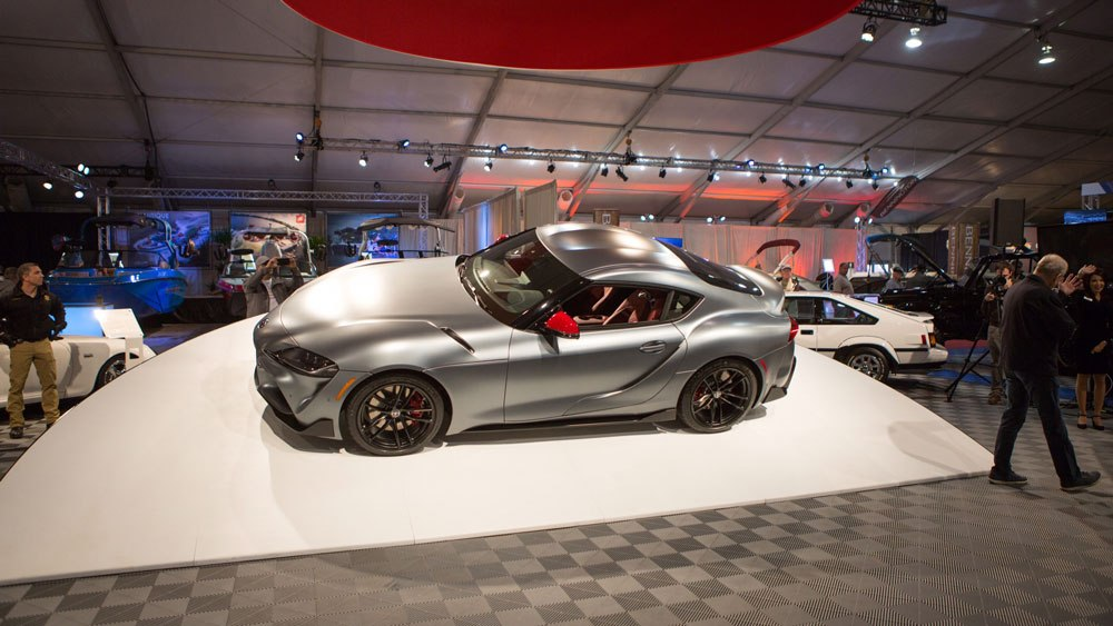 2020 Toyota Supra GR signed by Toyota chief executive Akio Toyoda