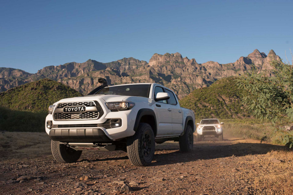 2019 Toyota TRD Pro off-road lineup debuts in Chicago