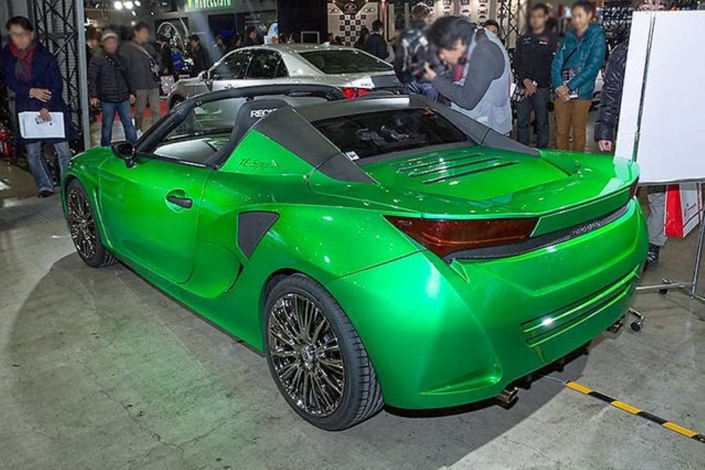 Image Toyota Te Spyder 800 Hybrid Roadster Concept Size