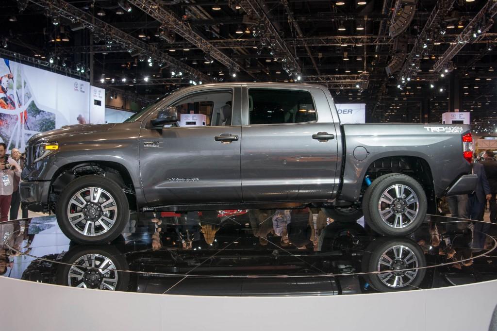 2018 Toyota Tundra TRD Sport, 2017 Chicago Auto Show