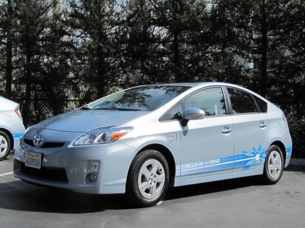 prototype 2012 Toyota Prius Plug-In Hybrid, April 2010