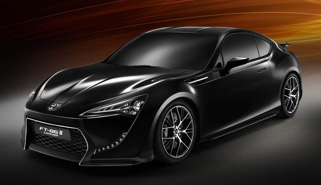 Image: 2011 Toyota FT-86 II Concept, size: 1024 x 592 ...