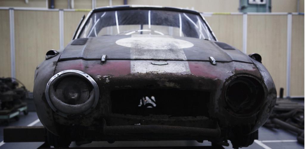 1966 Toyota Sports 800 restored by Gazoo Racing