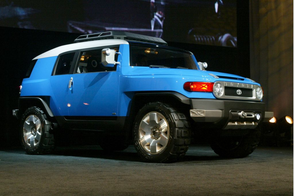 Minivans For Sale >> Image: Toyota FJ Cruiser concept, 2005 Chicago Auto Show, size: 1024 x 684, type: gif, posted on ...