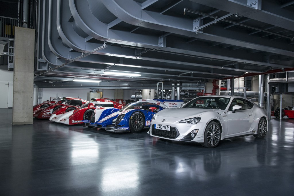 Toyota's Le Mans Prototypes: TS010, TS020, TS030, and the GT-86 road car