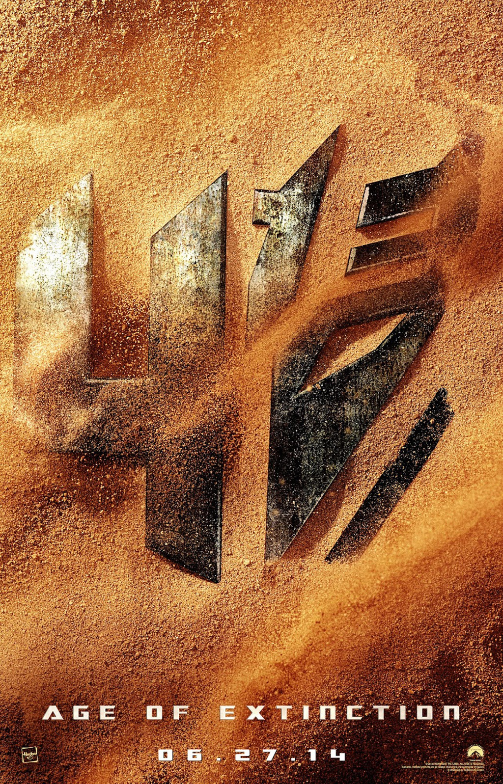 Transformers 4: Age Of Extinction movie poster