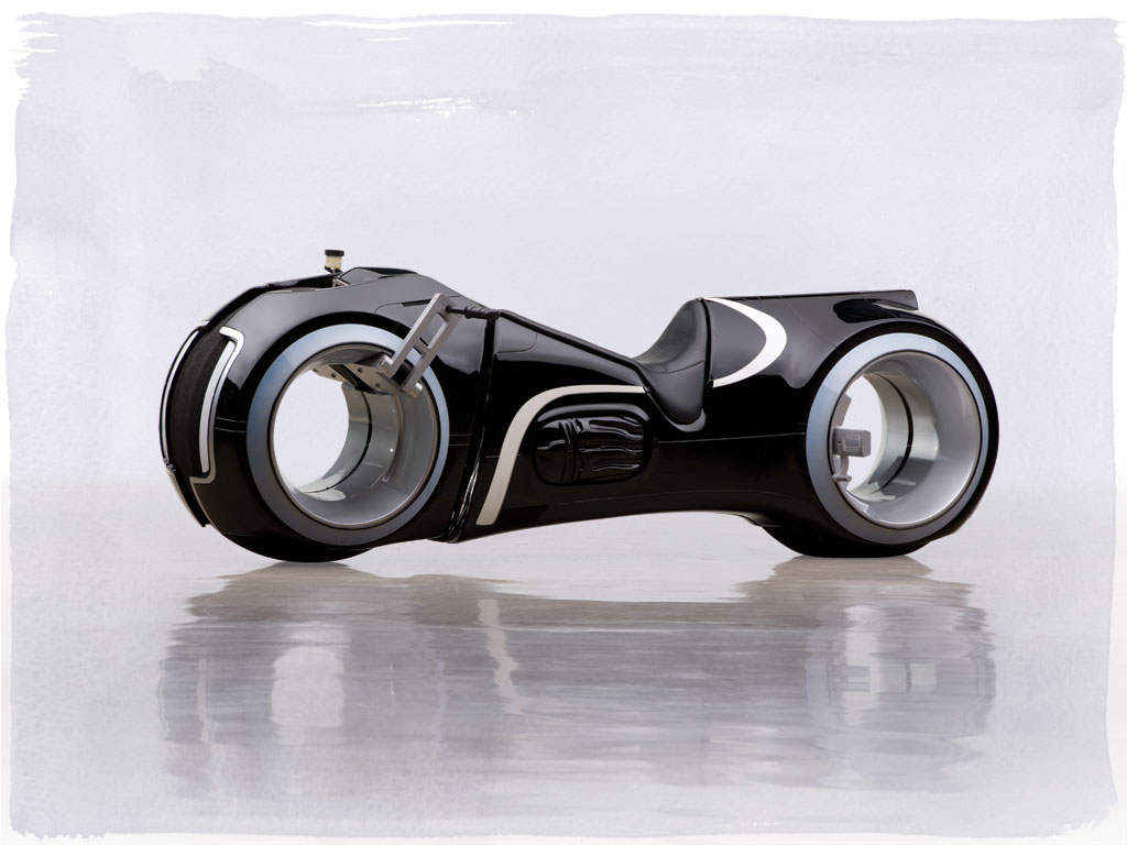 Functional Tron Legacy Light Cycle Replica Sells For 77 000 At