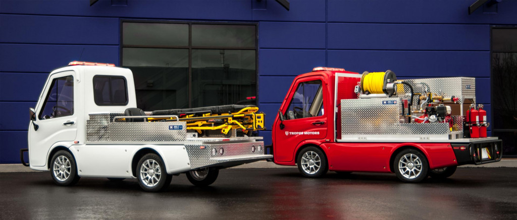 Electric emergency vehicles: Tropos Motors shows how to start small