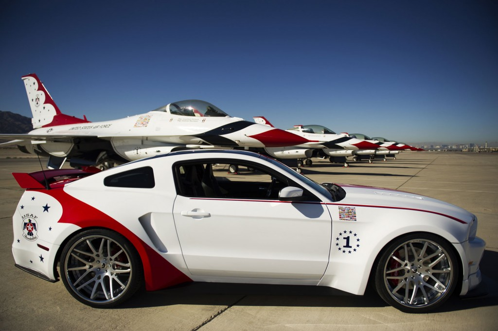 image: u.s. air force thunderbirds edition 2014 ford mustang gt