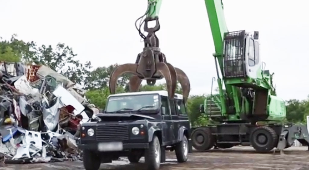 Us Customs Crush Illegally Imported Land Rover Defender