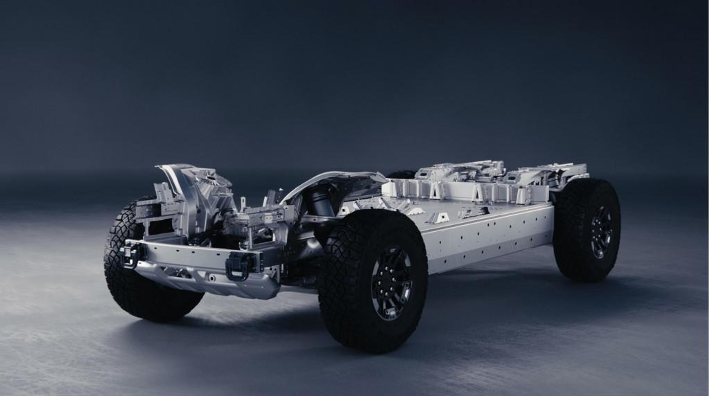 Nền tảng Ultium EV - GMC Hummer EV