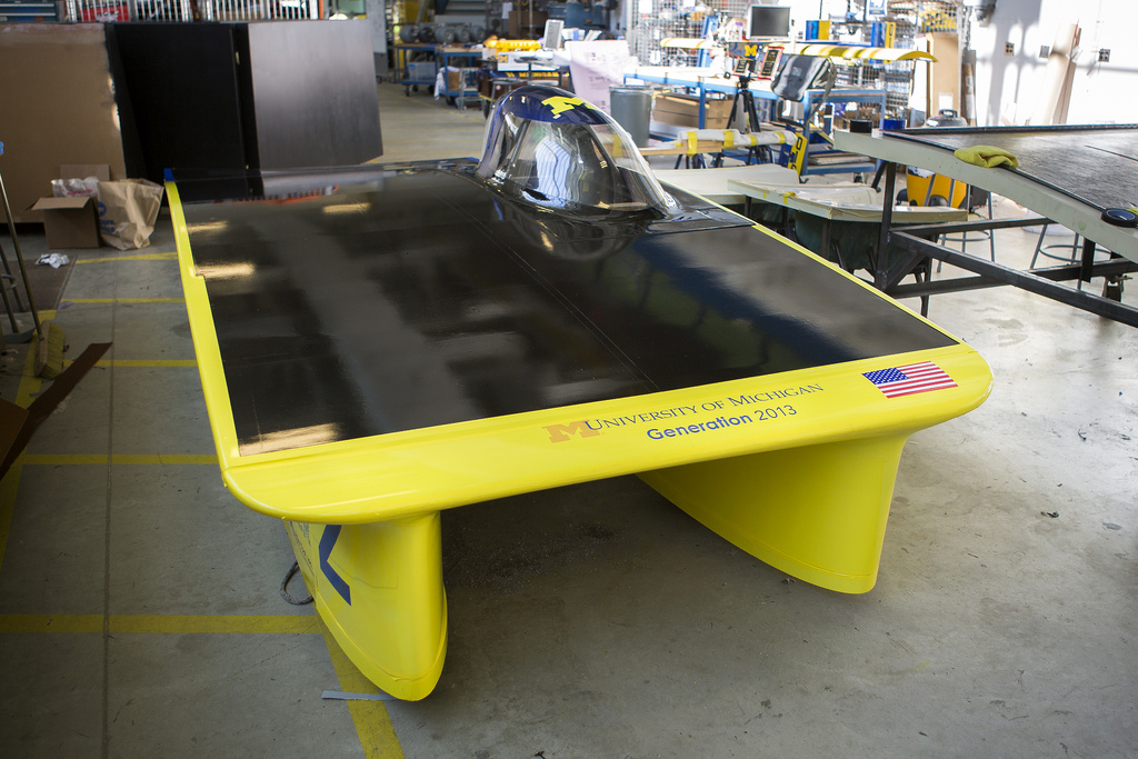 & University Of Michigan Solar Car Takes Sun Power To New Extremes