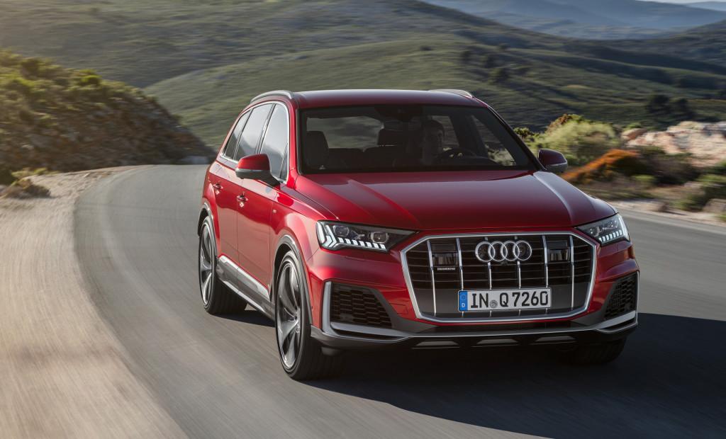 Redesigned 2020 Audi Q7 gets a digital redo inside