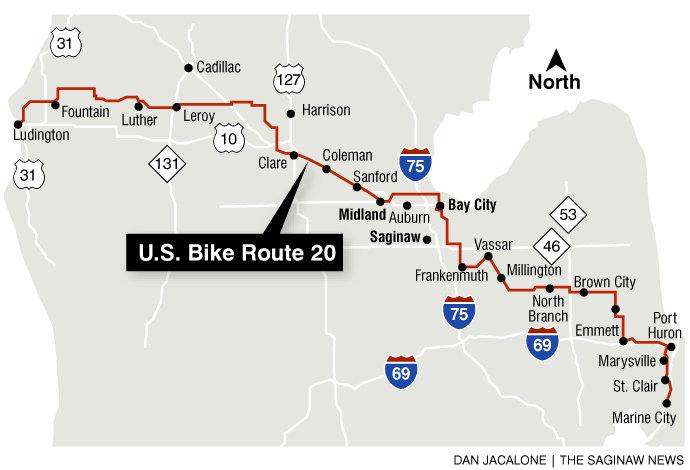 USBR 20 (Michigan bike highway)