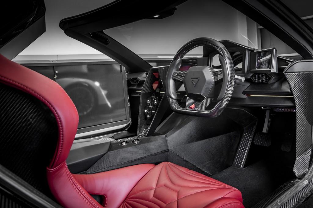 Vanda Dendrobium D-1 electric supercar to be built in UK