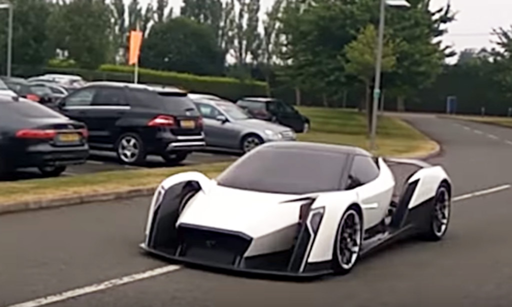 Vanda Dendrobium electric supercar spotted testing