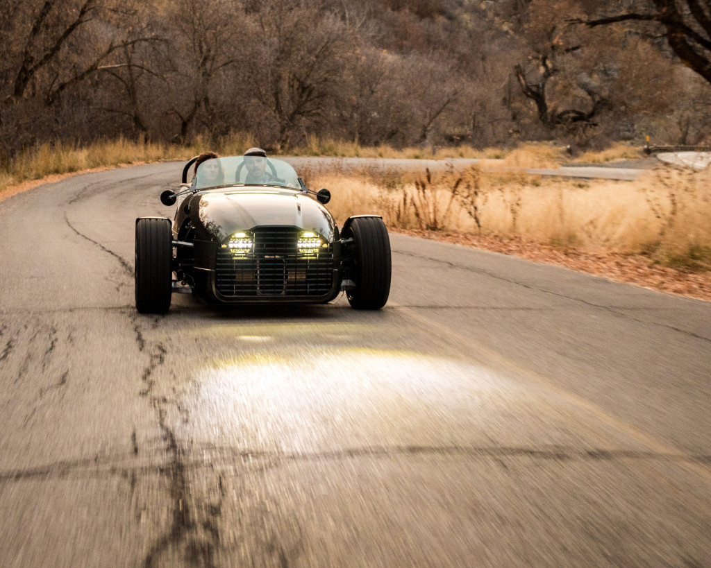 Vanderhall Edison² electric 3-wheeler looks to beat Morgan to the punch
