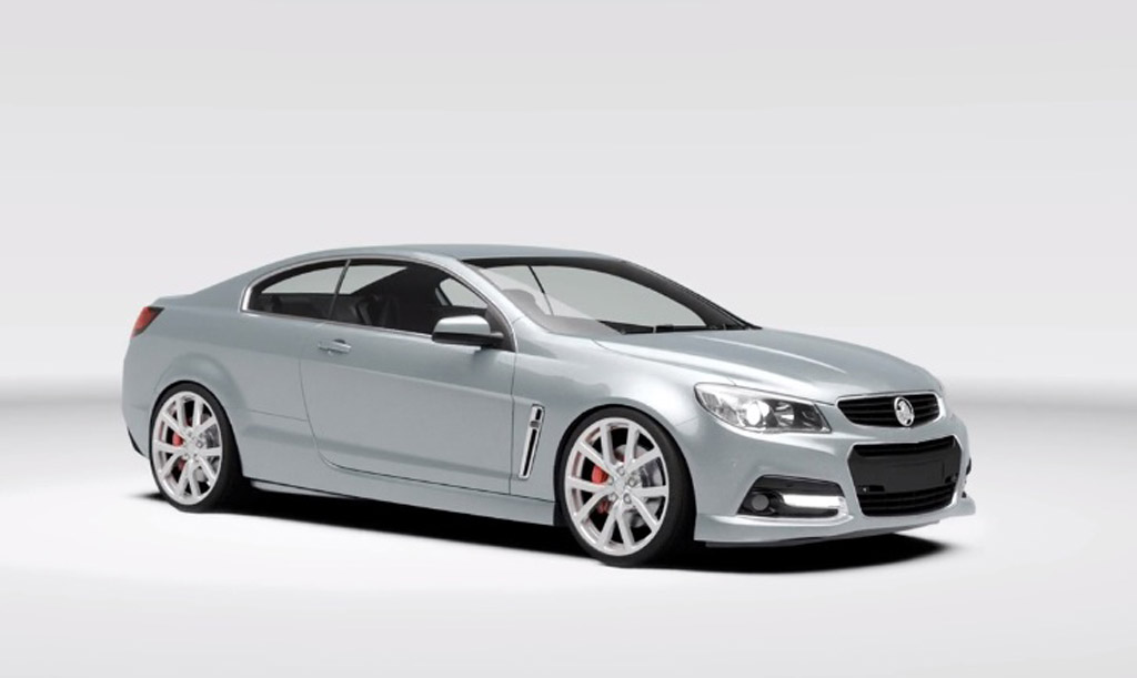 Chevrolet Ss Coupe Envisaged