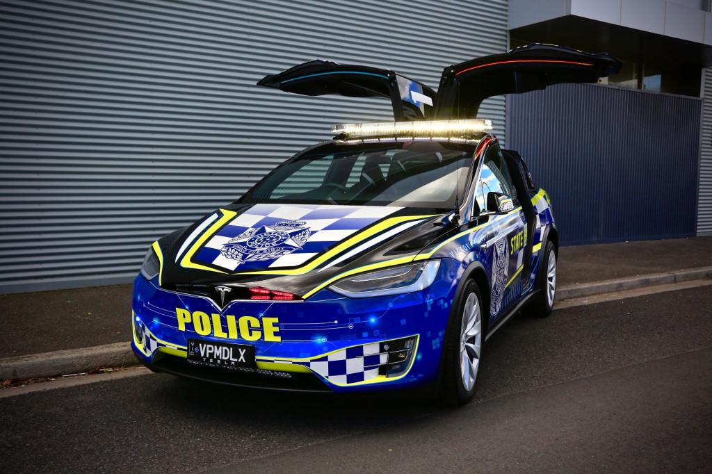 Tesla Model X joins Australian police fleet