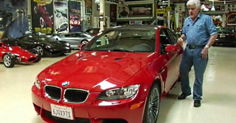 video jay lenos garage tests   bmw