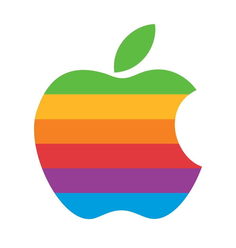Vintage Apple logo