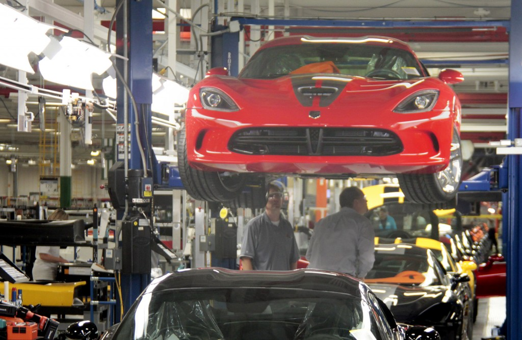 Viper production at Conner Avenue Assembly Plant