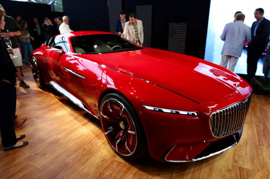 Image: Vision Mercedes-Maybach 6 concept, 2016 Monterey ...
