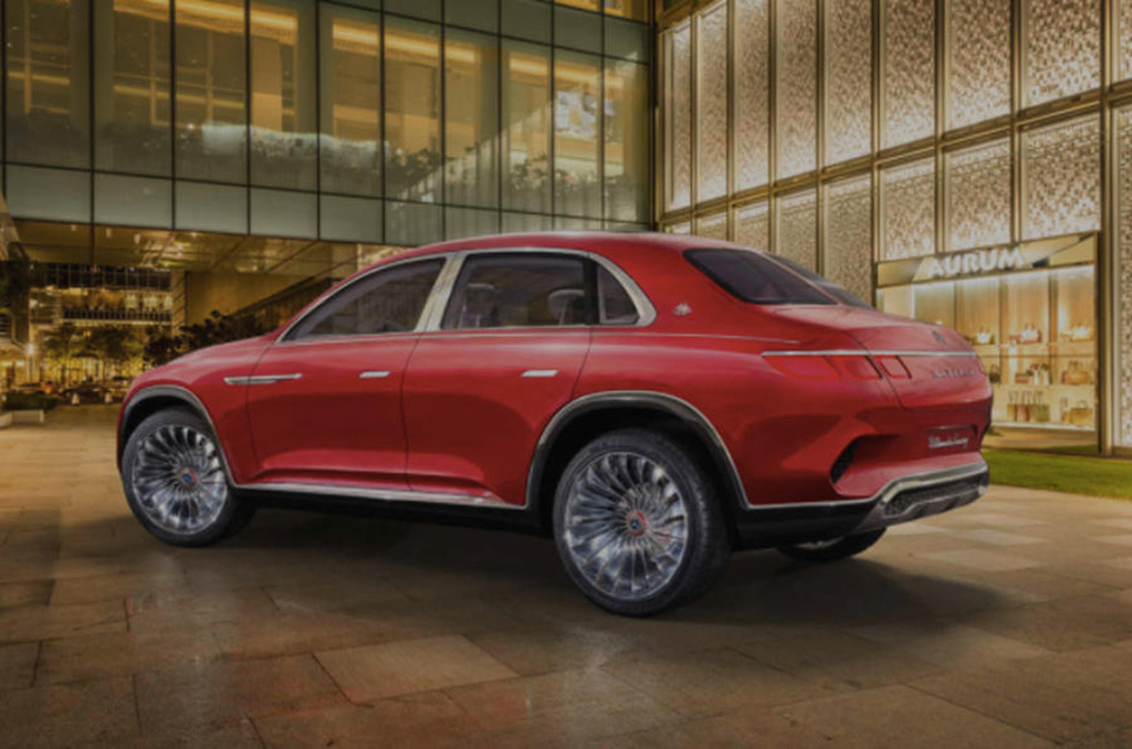 Mercedes Maybach Suv Concept Leaked Ahead Of Beijing Debut