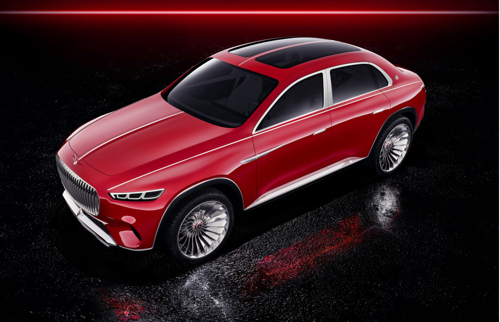 Sedan meets SUV with Mercedes-Maybach Ultimate Luxury concept