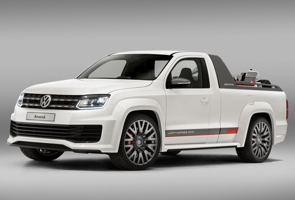 Amarok R Style Concept Is Vw S Attempt At Building A Raptor
