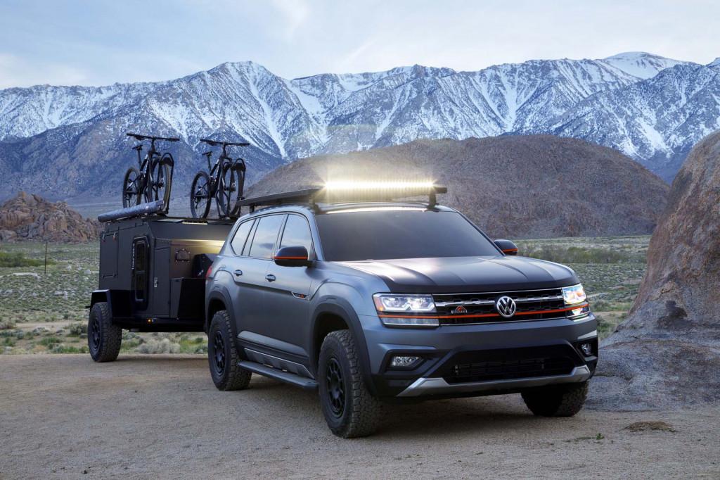 Volkswagen Atlas Basecamp Concept overlands to 2019 New York auto show
