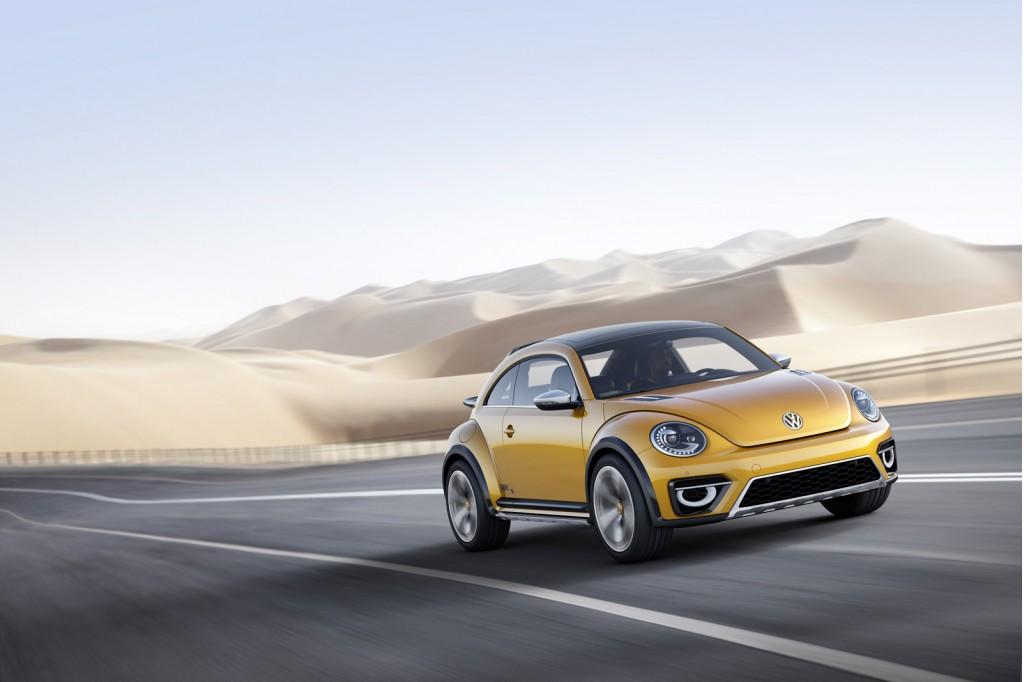 Volkswagen Beetle Dune concept, 2014 Detroit Auto Show