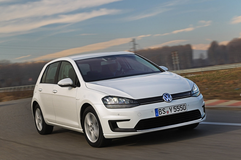 Volkswagen E Golf Details Images Leaked Ahead Of Geneva Show