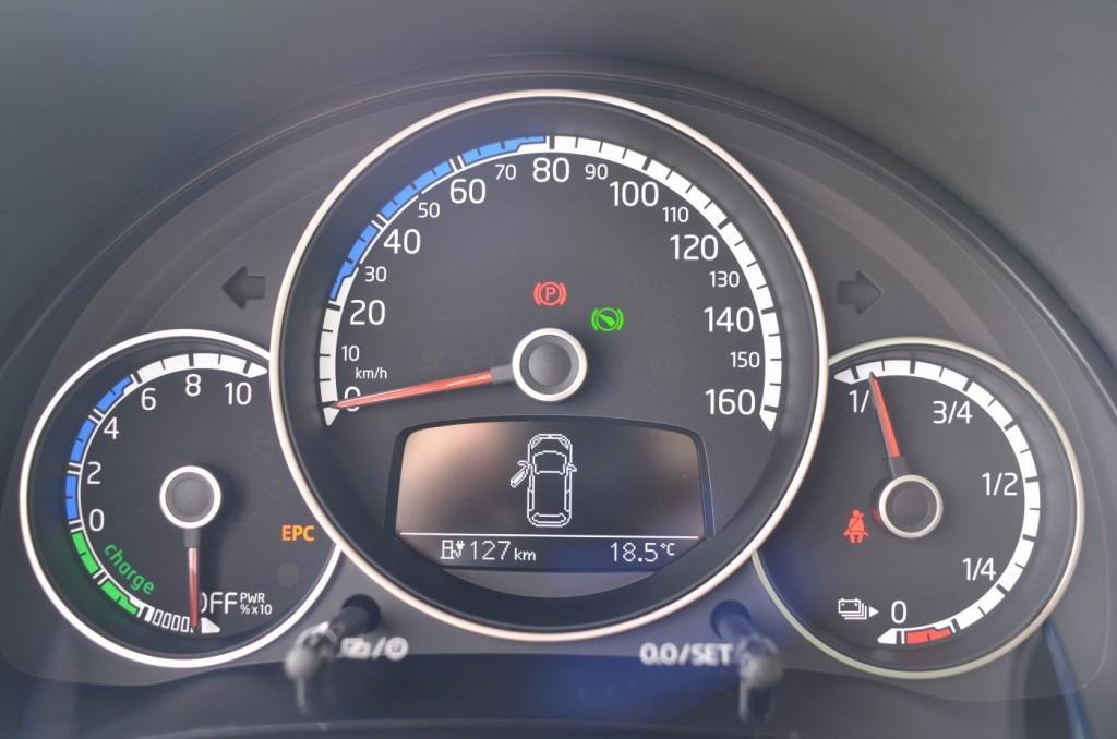 Volkswagen e-Up test drive, Berlin, March 2014