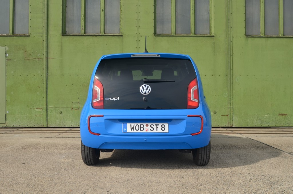Volkswagen e-Up test drive, Berlin, March 2014