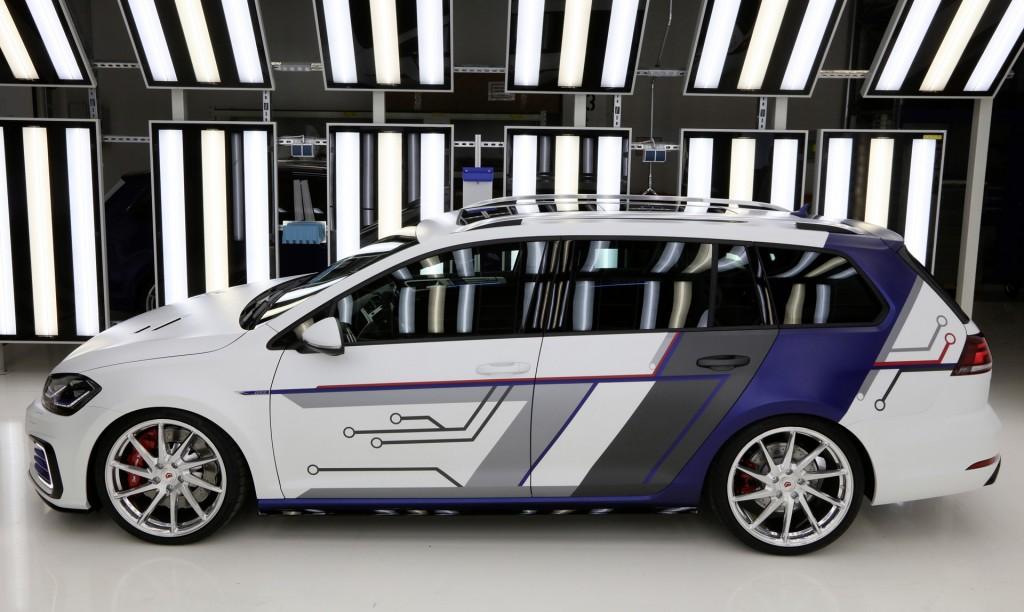 Volkswagen Golf GTE Estate impulsE from Zwickau concept, 2017 Wörthersee Tour