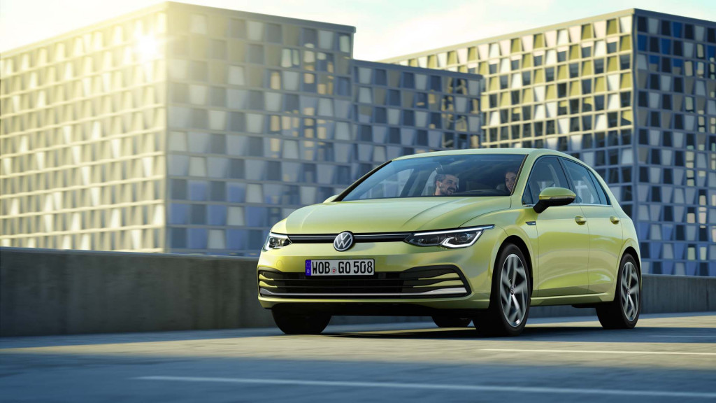New Volkswagen Golf hatchback revealed amid uncertain future in US