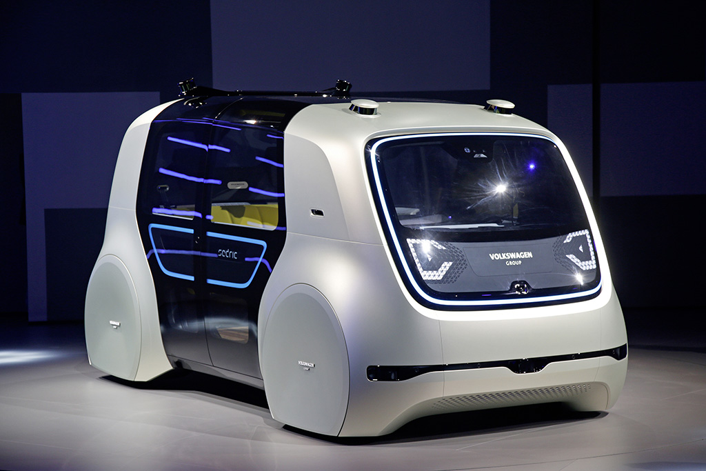 Sedric Concept Is Vw Group S First Level 5 Self Driving Car