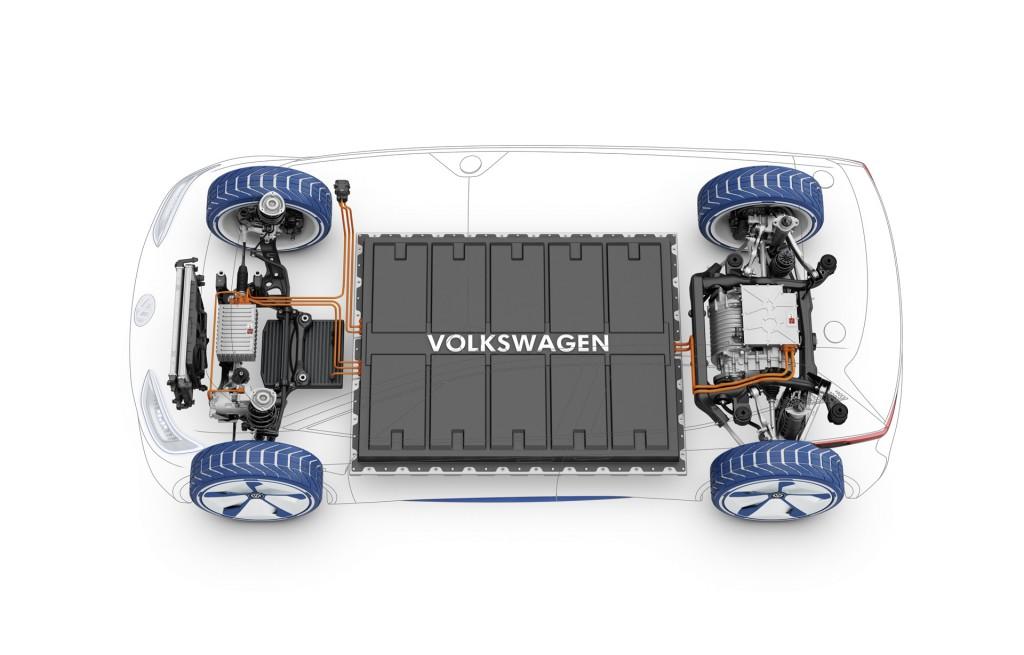 Volkswagen Id Electric Car Concept 2016 Paris Auto Show