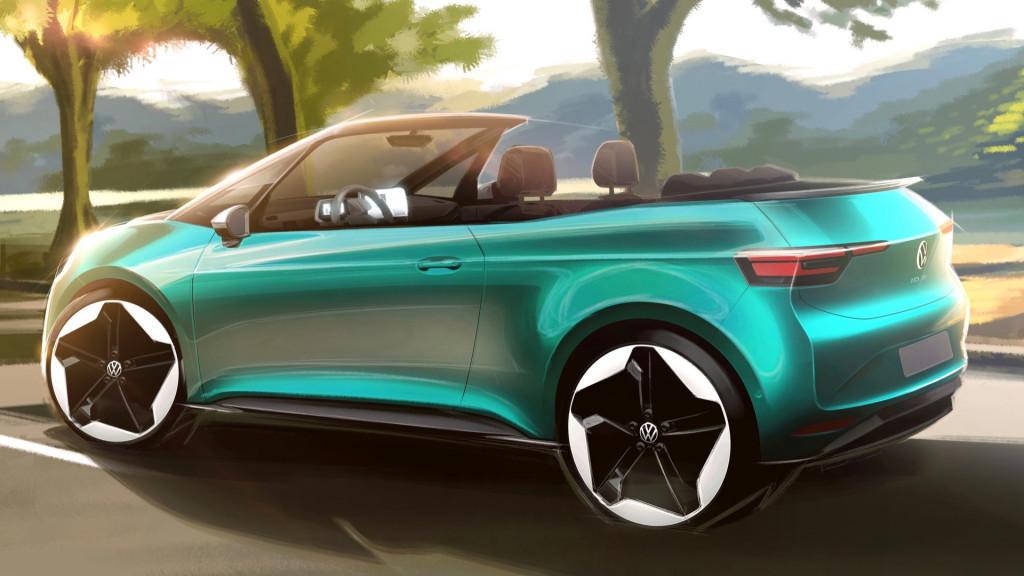 Volkswagen ID.3 convertible rendering