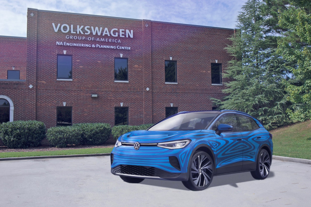 Volkswagen ID.4 at Chattanooga Engineering and Planning Center