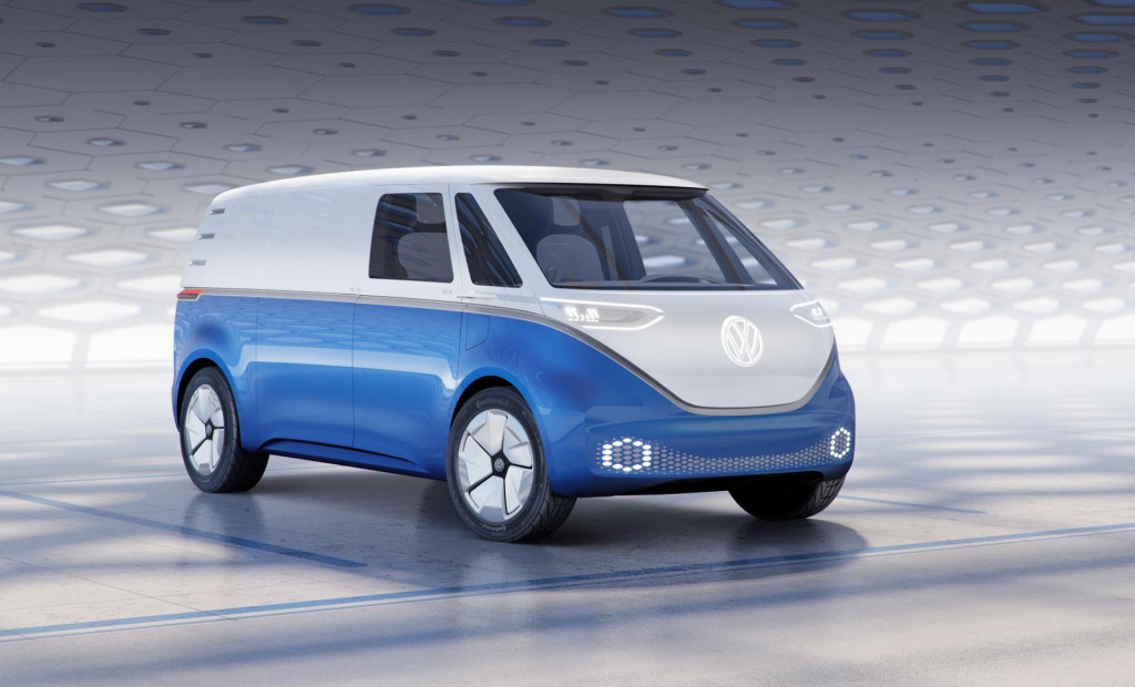 Newest VW ID Buzz concept previews electric cargo carrier