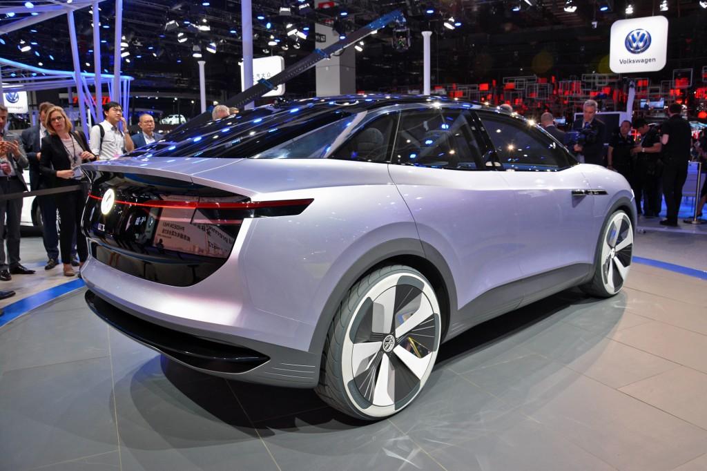 Volkswagen ID Crozz concept, 2017 Shanghai auto show  [photo: Ronan Glon]