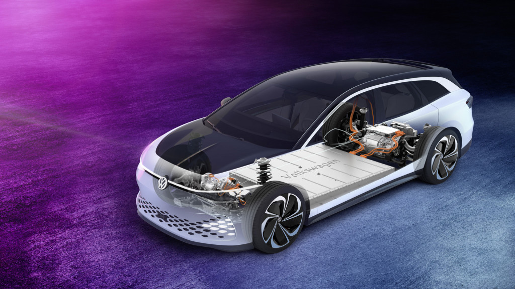 Volkswagen ID Space Vizzion electric-car concept shows off the spacious side of MEB