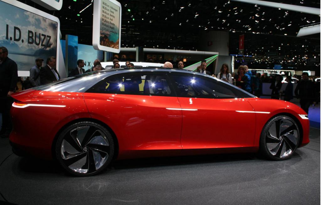 Image Volkswagen ID Vizzion Concept Size 1024 X 654