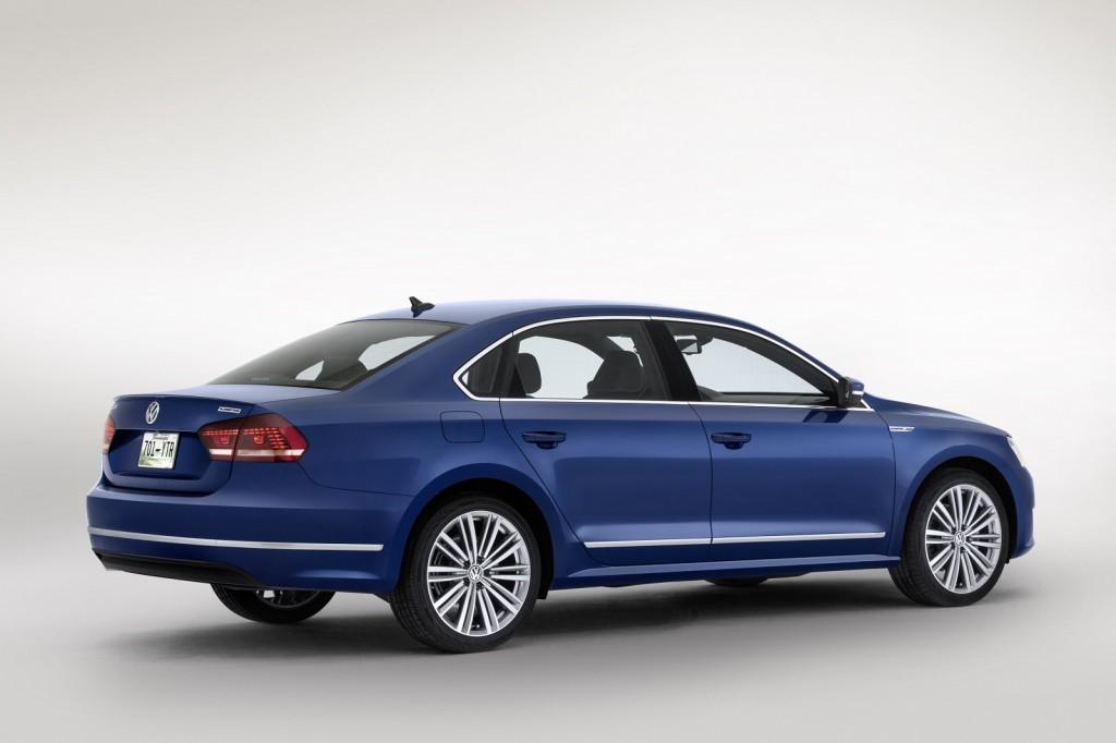 Volkswagen Passat BlueMotion Concept, 2014 Detroit Auto Show