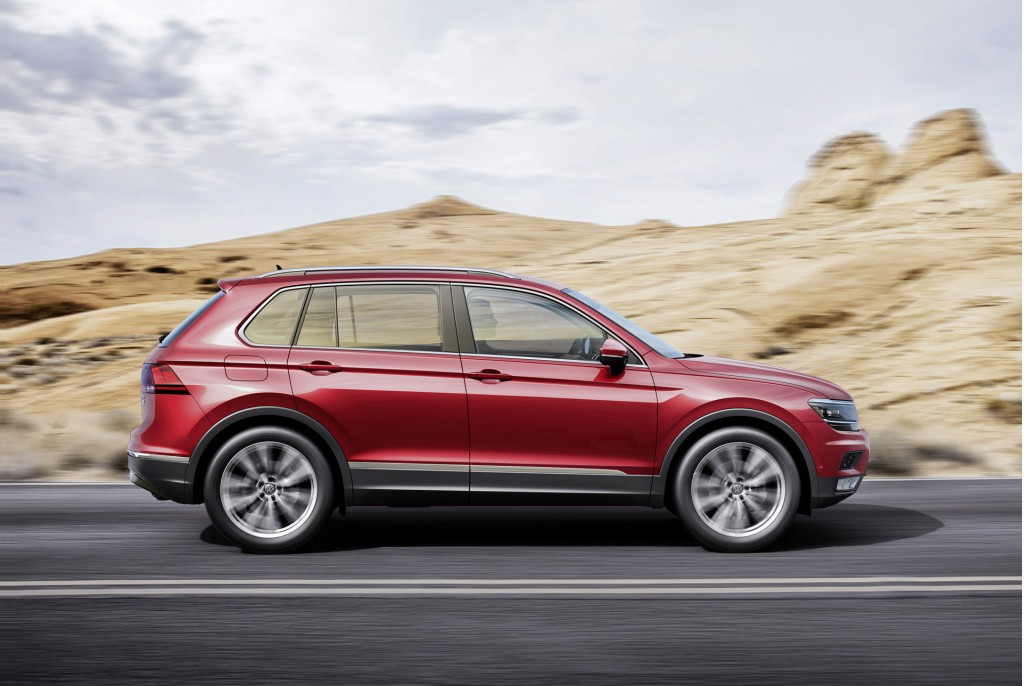New Volkswagen Tiguan (European-spec)
