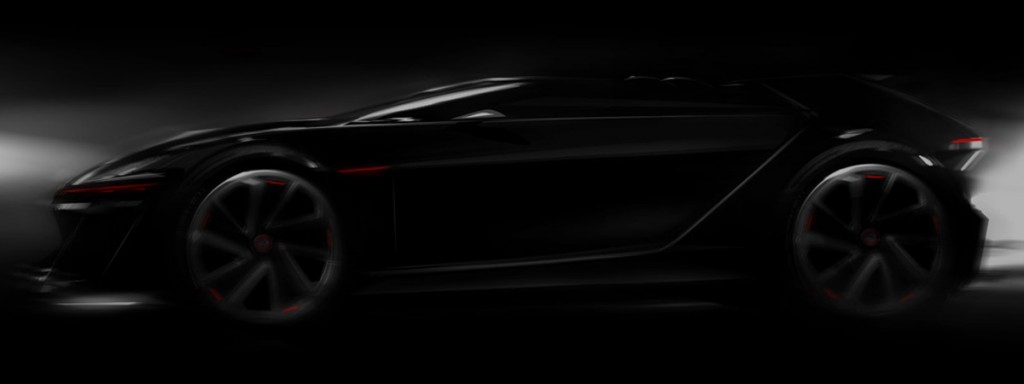 Volkswagen VisionGTI for Gran Turismo 6 teaser image