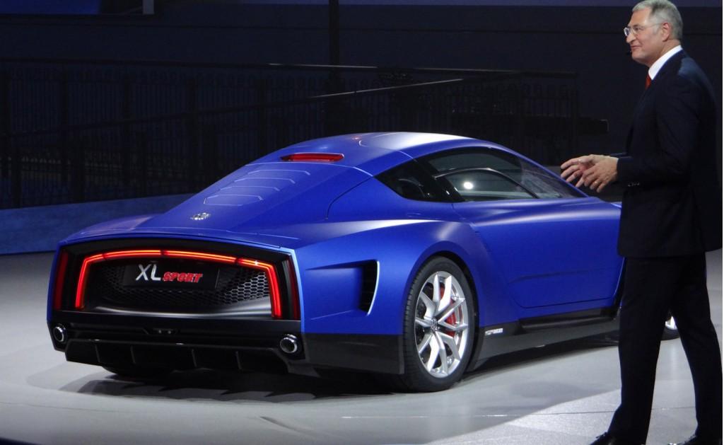 Image: Volkswagen XL Sport concept, 2014 Paris Auto Show ...