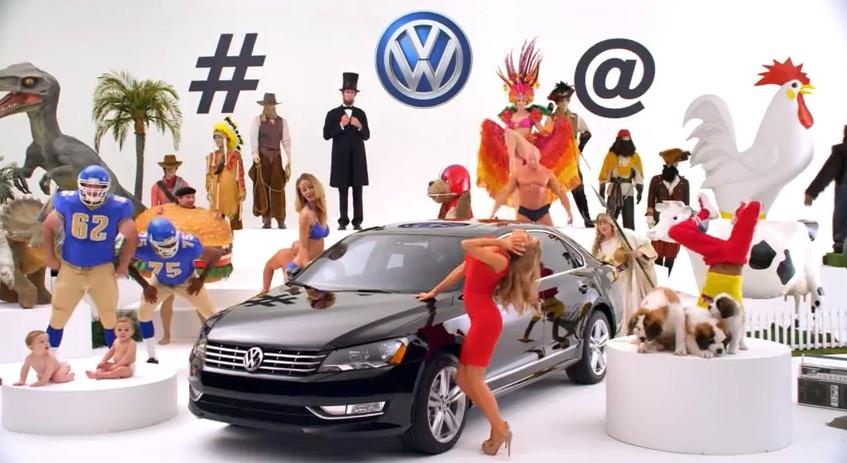 Volkswagen 'Algorithm' teaser for Super Bowl 2014